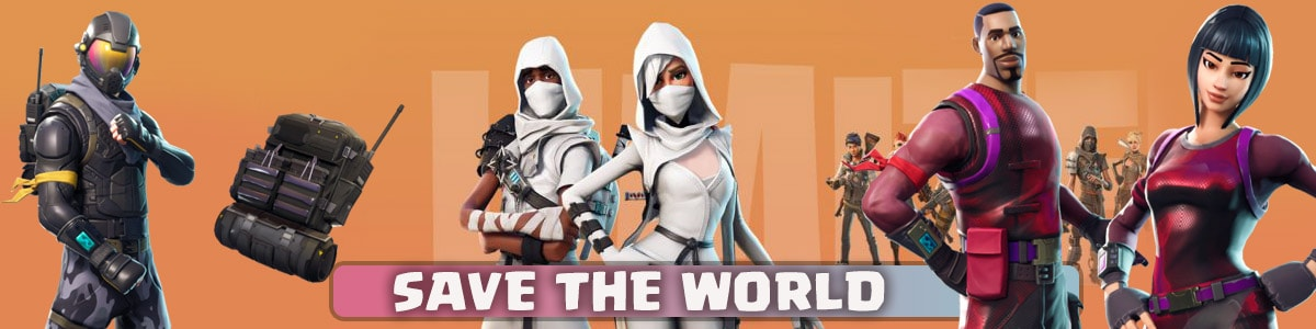 خرید save the world بازی فورتنایت Fortnite